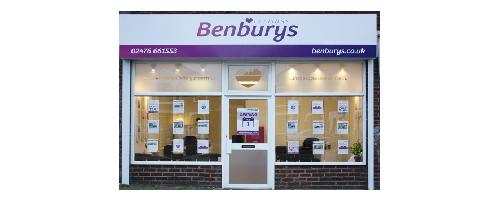 Benburys Office Front