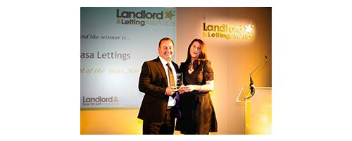 Casa Lettings Award Presentation